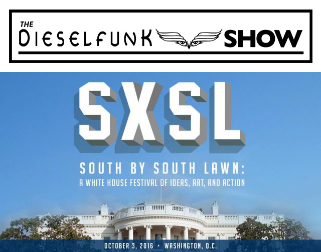 Dieselfunk @ South By South Lawn #SXSL