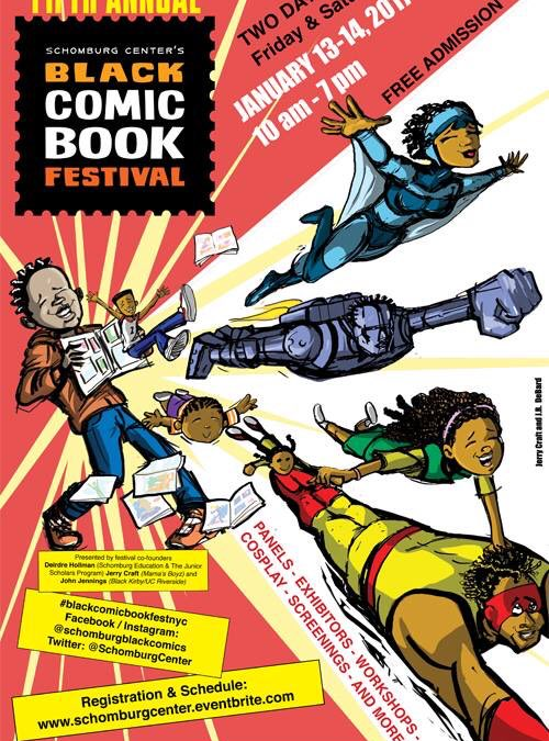 Dieselfunk Show at Schomburg's 5th Annual Black Comic Book Festival
